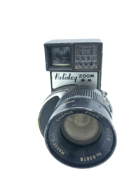 Vintage Holiday Zoom Movie 8mm Camera