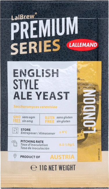 Lallemand English Style Ale formerly (London ESB Style Ale) Yeast 11 g