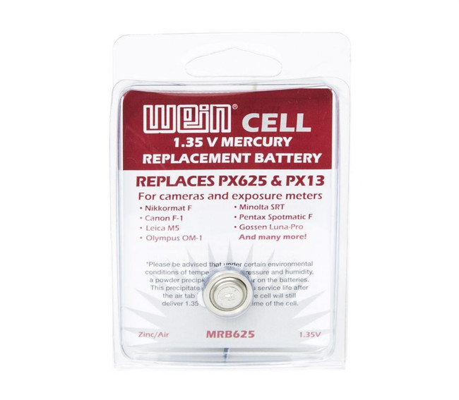 WeinCell MRB625 1.35v Mercury Replacement Battery