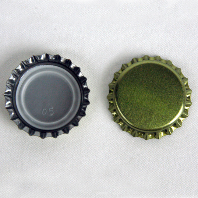 Crown Bottle Caps Gold 144 ct