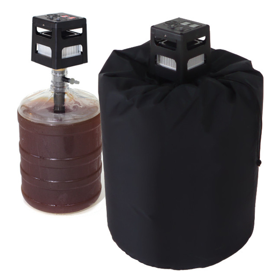 Brewjacket Immersion Pro w/ Carboy Bucket Insulated Jacket, Heat & Cool