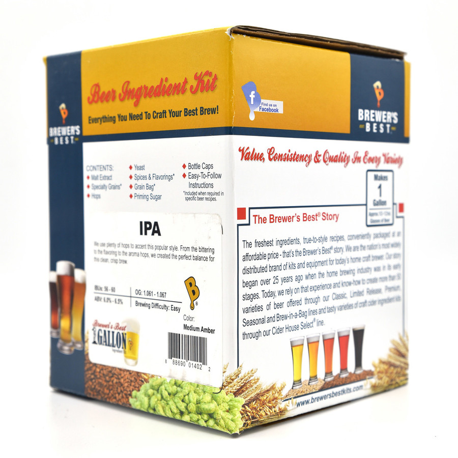 Brewer's Best IPA Ingredient Kit 1 gal