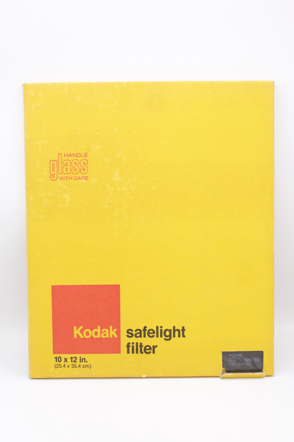 Kodak Safelite Filter NO 10 10x12