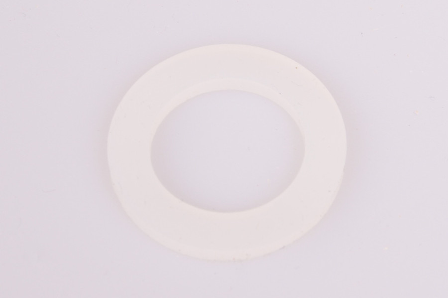 """1/2"""" NPT Clear Silicone Gasket"""