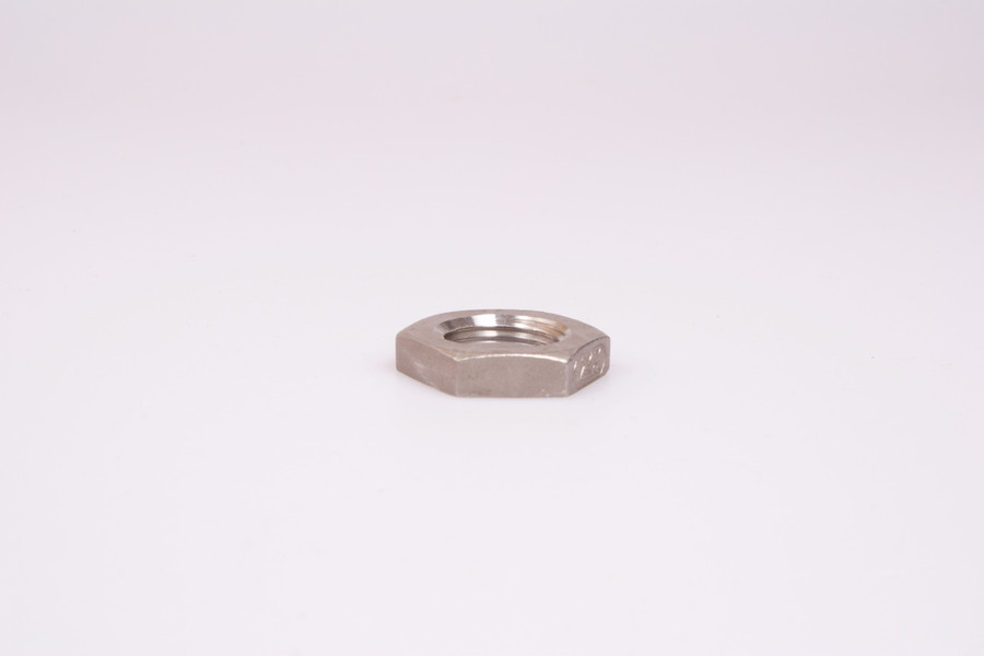 "1/2"" NPT Stainless Steel Lock Nut"