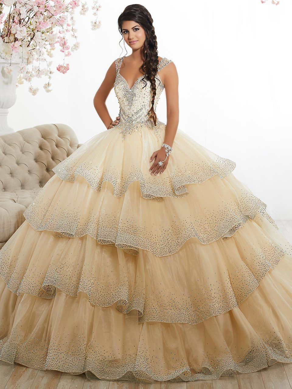 1a86f4ece42 Sweetheart Ball Gown Tiffany Quinceanera Dress 26880 ...