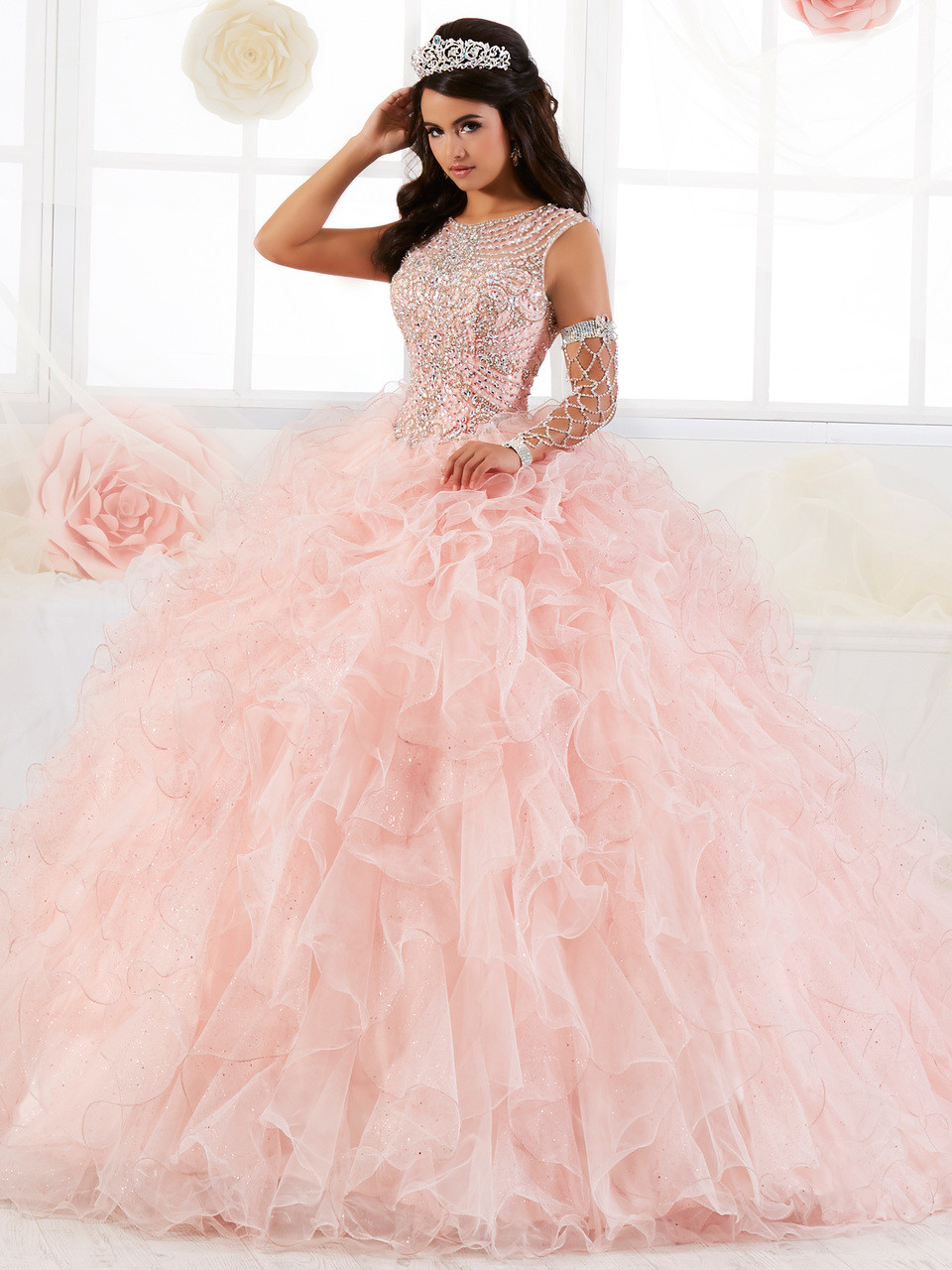 c4be7804b01 Quinceanera Collection Ruffled Ball Gown Dress 26901 ...