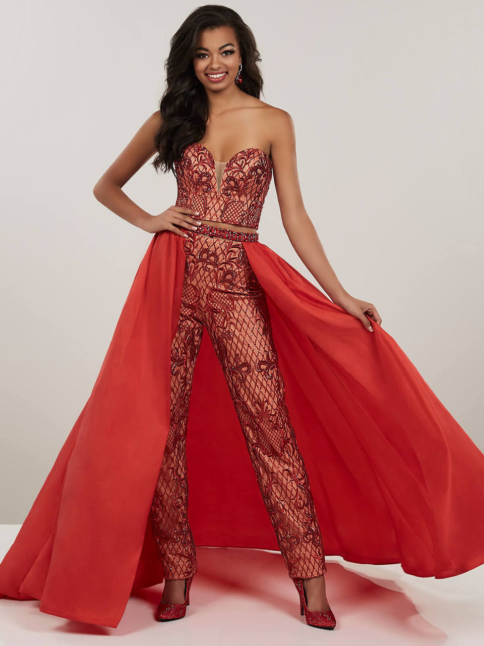 402b82d5403 Sequin Pantsuit Panoply 14952 Prom Dress PromHeadquarters. Two Piece Jumpsuit  Prom Dress Panoply ...