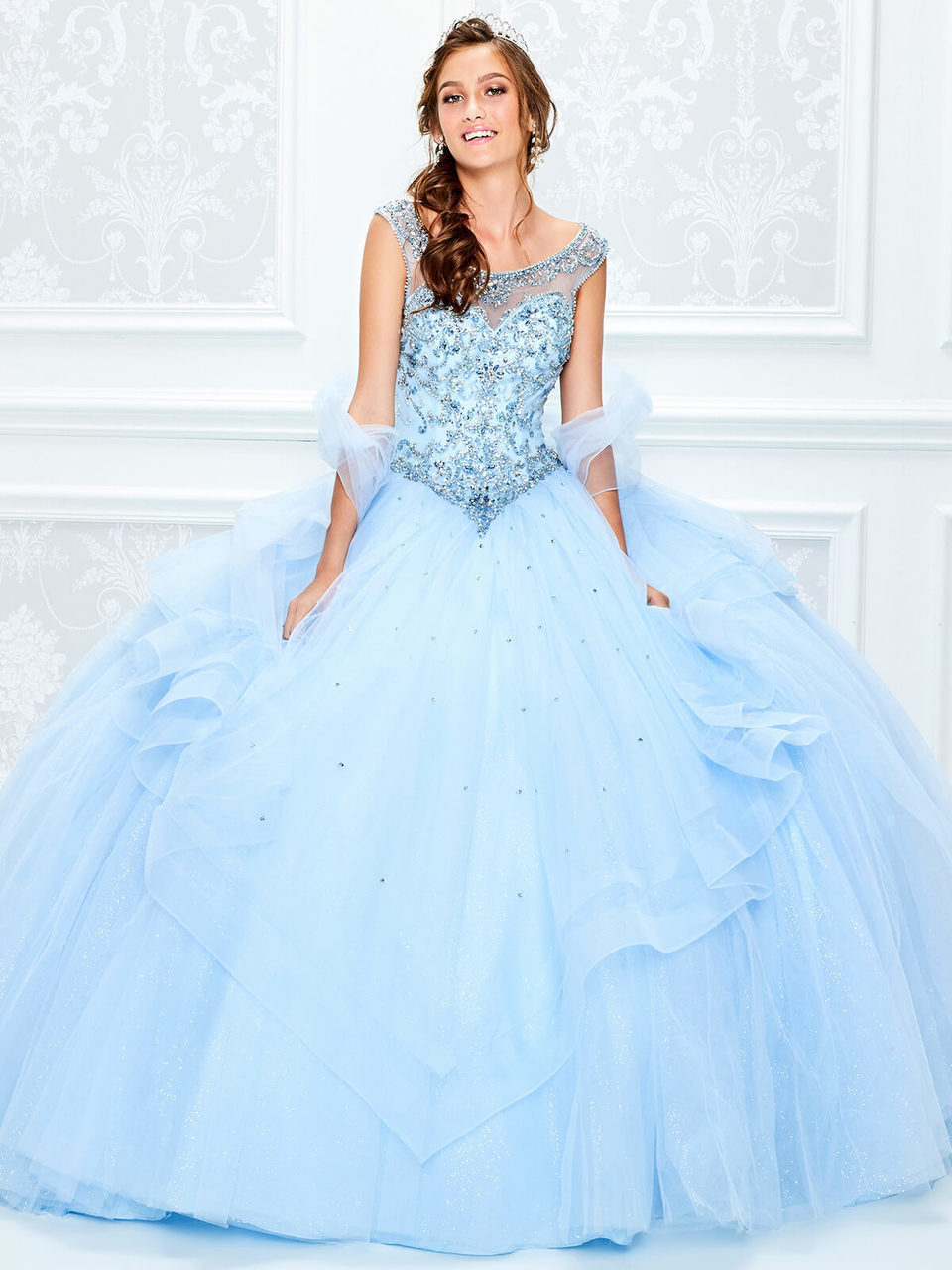 f67bb44b0 Princesa Quinceanera. $698.00. sweetheart illusion tulle ball princesa by ariana  vara pr11938. Free shipping