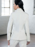 Back of the tuxedo jacket for women Elizabeth
