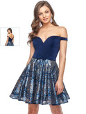 Off The Shoulder Lucci Lu Short Dress 28411