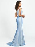 Glitter Jersey Prom Dress Madison James 19-175