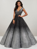 V-Plunging Neckline Prom Dress Panoply 14961