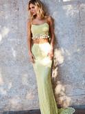 Two Piece Sherri Hill Prom Dress 52810