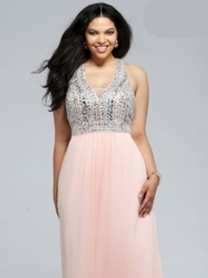 Plus Size Sweet Sixteen Dresses for Themed Parties