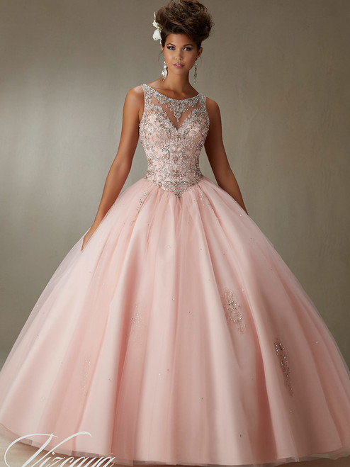 fbed56d642b Tulle Ball Gown Dress Vizcaya Quinceanera 89067