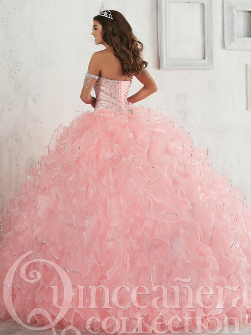 71b1888fab Quinceañera Collection 26801 Beaded Bodice Ball Gown ...