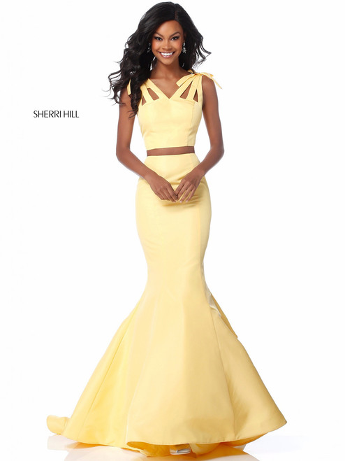 986f3a9b891 Trumpet Two Piece Sherri Hill 52024