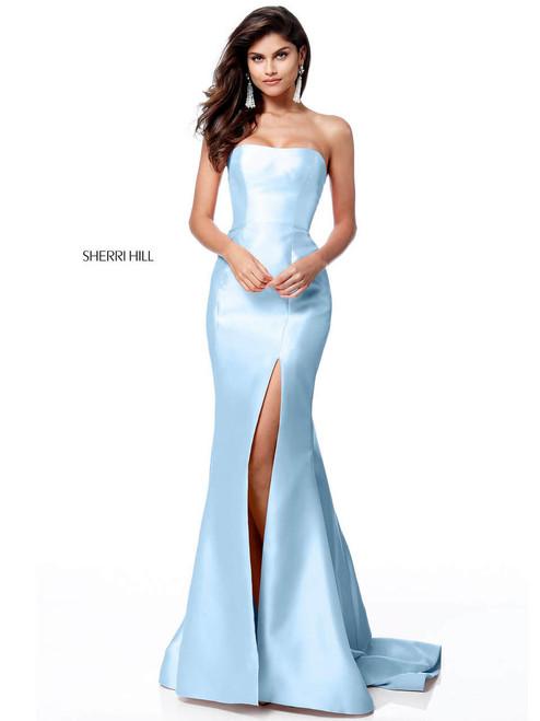 697f37759c1 Two Piece Sherri Hill Prom Dress 52580 - PromHeadquarters.com