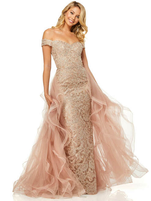 Rose Gold Prom Dresses Rose Gold Evening Gowns