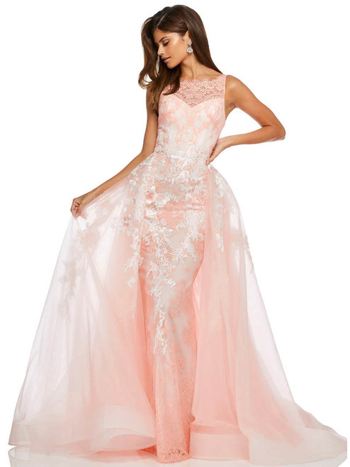 fcef5013d74 high neckline sherri hill prom dress 52660