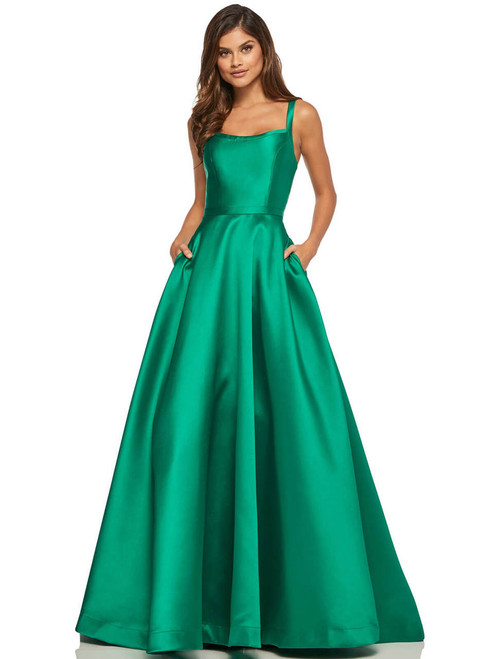 Blue 2018 Prom Dresses with Straps