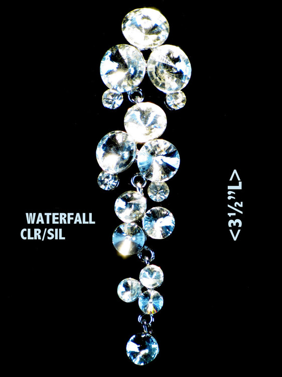 Free crystal earrings with dress purchase