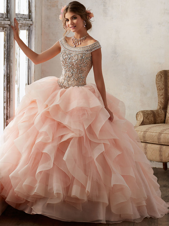 1d8c90021c Blush off the shoulder quince dress with ruffle skirt 89138 ...