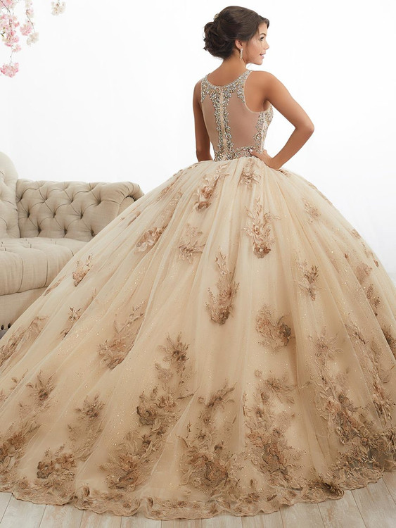 42276dbfe High Neckline Ball Gown Tiffany Quinceanera Dress 26884 ...