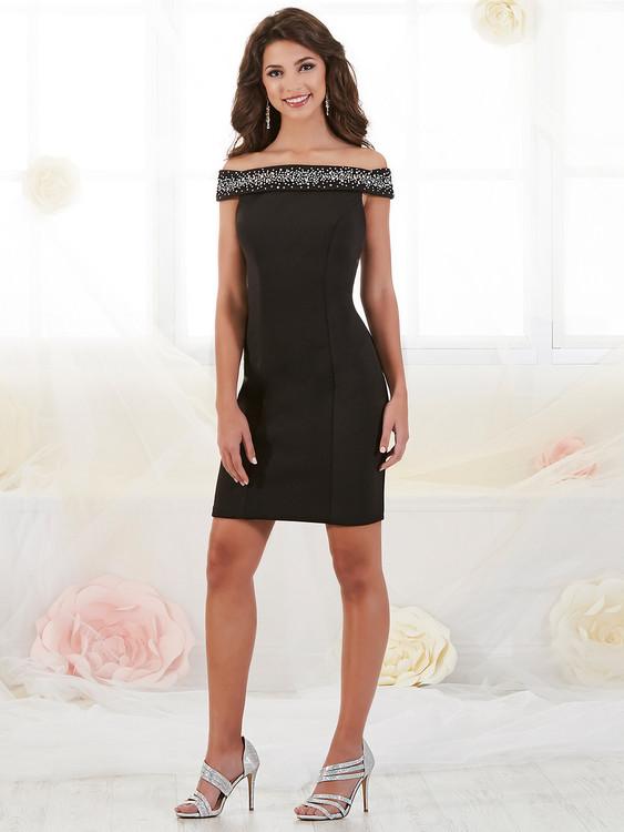 Off The Shoulder Damas Homecoming Dress 52436