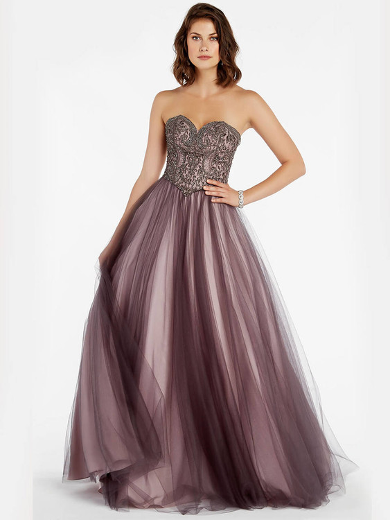 0ffd9bbbf ... hollywood pink sweetheart ball gown prom dress alyce paris 60360 ...