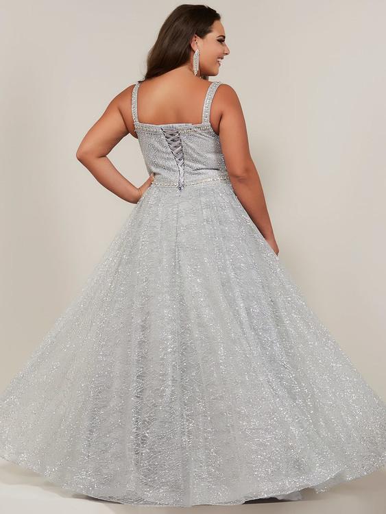 A-line Plus Size Prom Dress Tiffany Designs 16381
