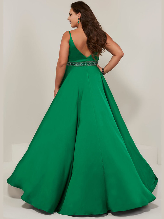 A-line Plus Size Prom Dress Tiffany Designs 16383