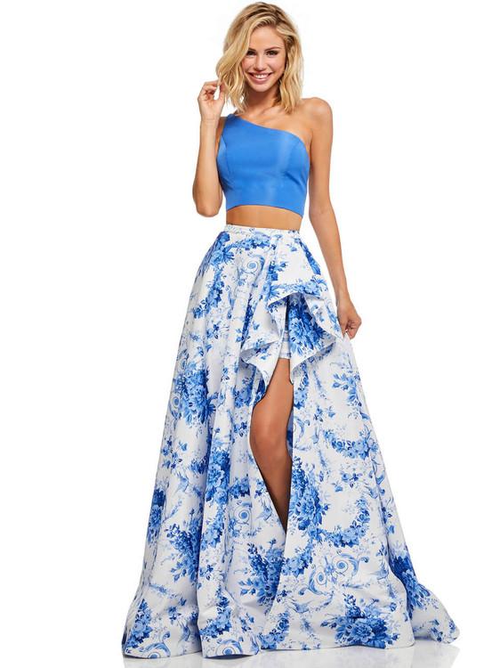 two piece sherri hill prom dress 52617