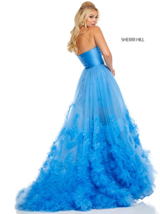 Strapless Sherri Hill Prom Dress 52693