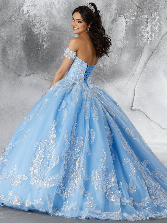 e25f11d4795 Sweetheart Vizcaya Quinceanera Ball Gown 89186 - PromHeadquarters.com