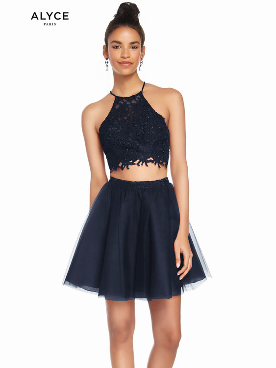 Two Piece Alyce Short Party Dress 3824