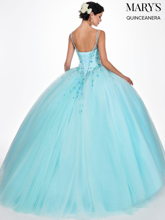 V-neck Mary's Quinceanera Dress MQ2052