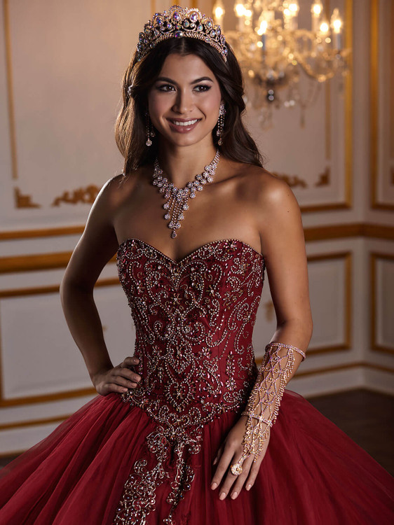 Sweetheart Fiesta Quinceanera Dress 56381