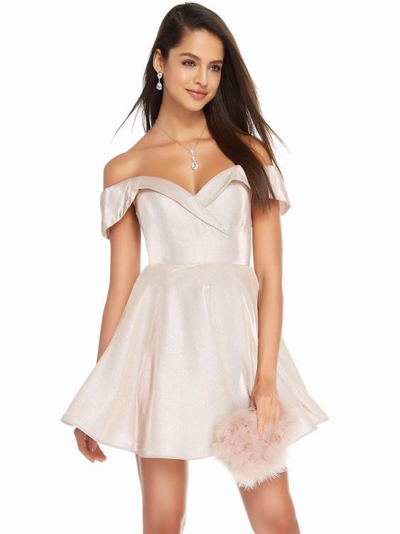 off the shoulder alyce paris prom dress 4184