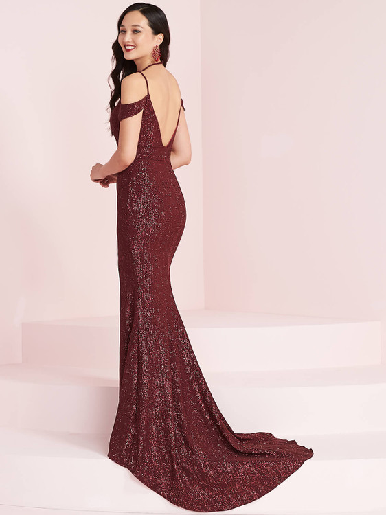 Cold Shoulder Prom Dress Panoply 14003