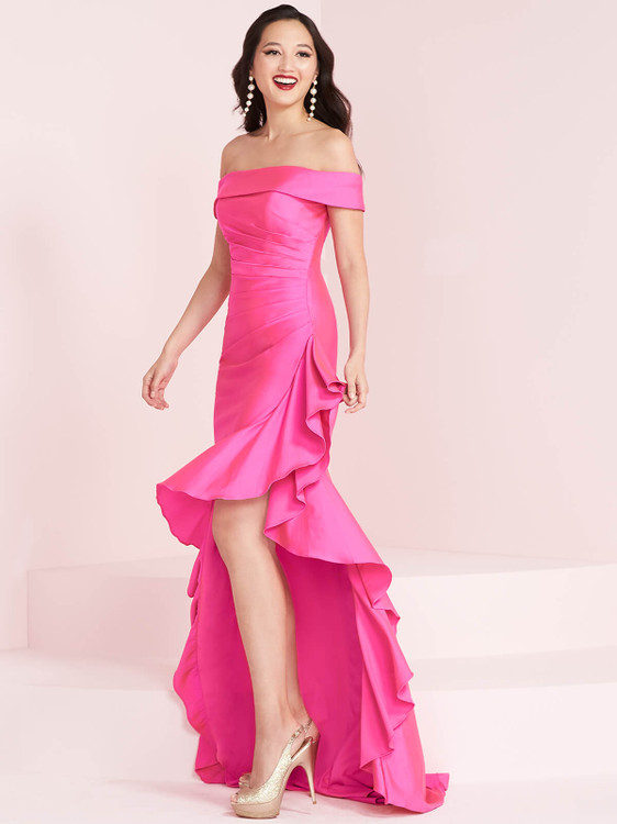 Off The Shoulder Prom Dress Panoply 14005