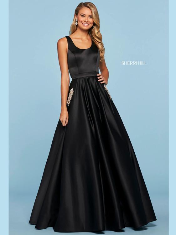 ball gown sherri hill prom dress 53512