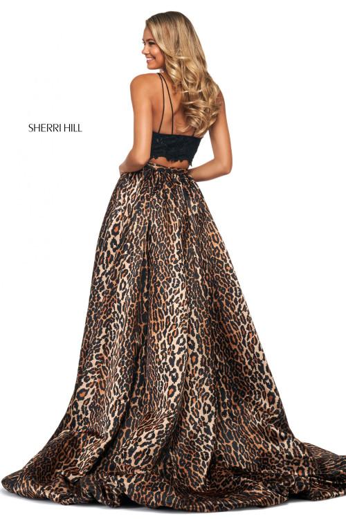 Animal Printed Prom Dress Sherri Hill 53721