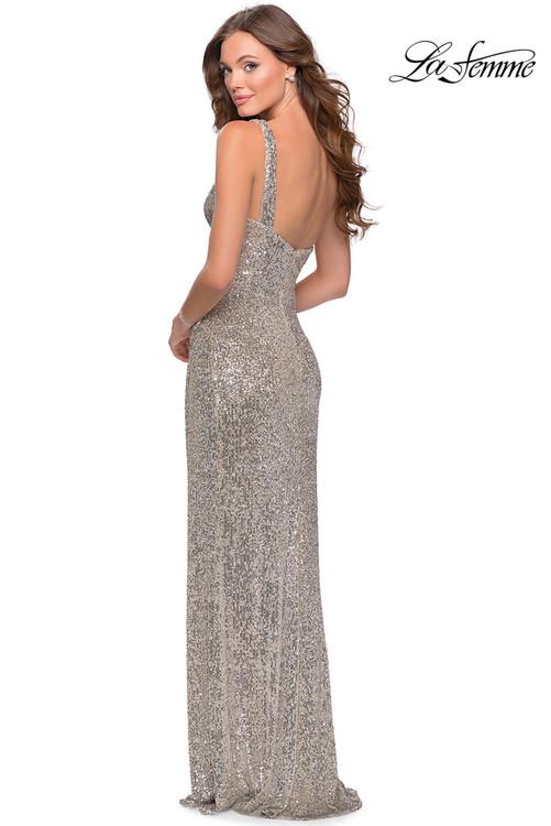 One Shoulder Prom Dress La Femme 28401