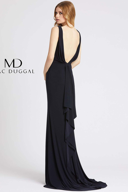 Fitted Jersey Prom Dress Flash by Mac Duggal 12336L