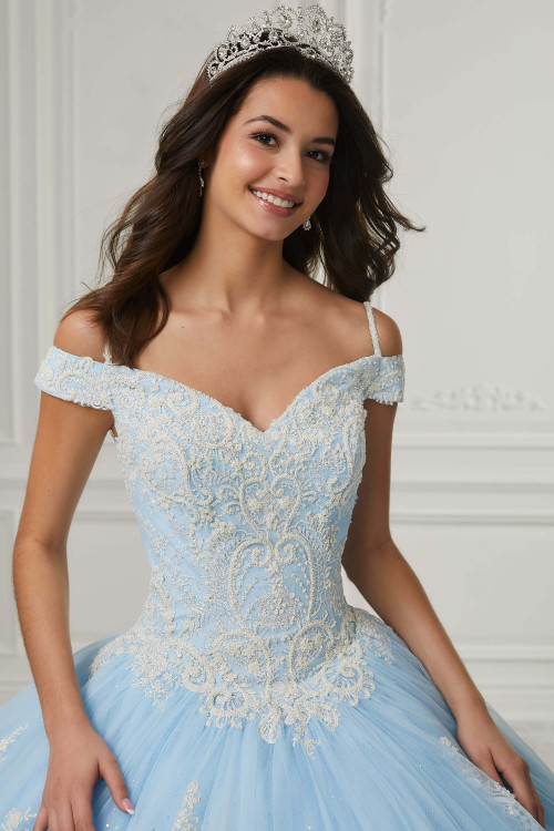 Off The Shoulder Quinceanera Collection Ball Gown Dress 26980