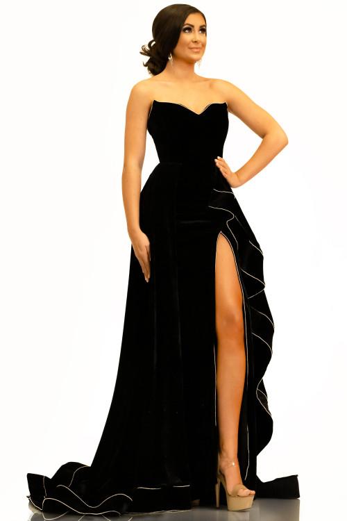 Sweetheart Pageant Dress Johnathan Kayne 2316