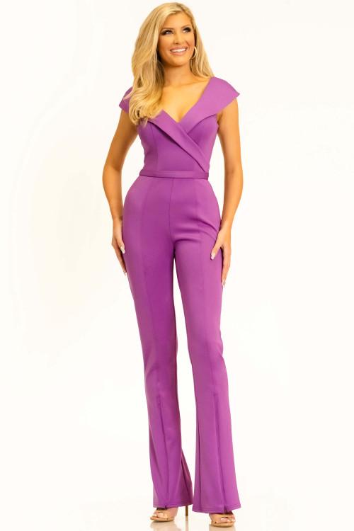 Jumpsuit Pageant Dress Johnathan Kayne 2322