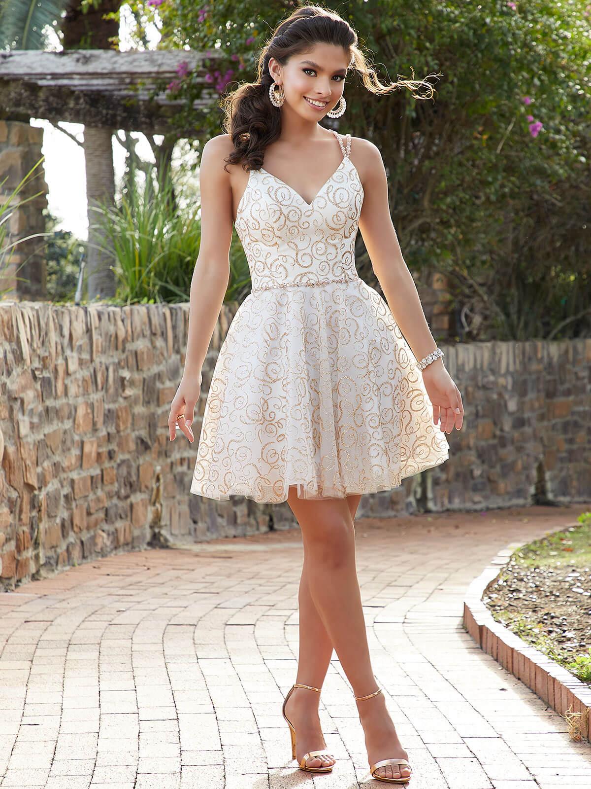 Damas Quinceanera Party Dress 6